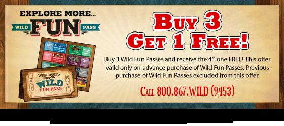 Wild Fun Pass Special Offer!