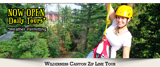 Wilderness Canyon Zip Line Tour