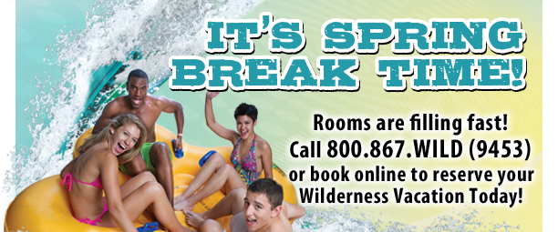 It's Spring Break Time at the Wilderness Resort in Wisconsin Dells
