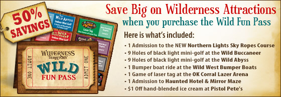 Save Big On Wilderness Attractions!