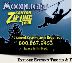 Moonlight Canyon Zip Line Tour