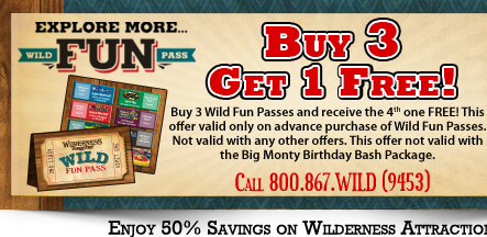Wild Fun Pass Special Offer!
