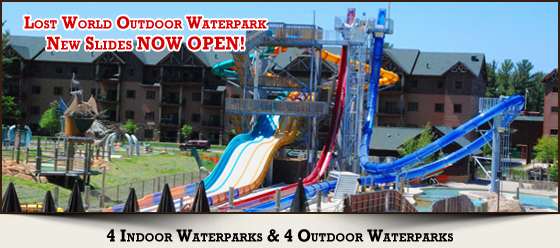 Lost World Outdoor Waterpark - Home of the NEW Extreme Thrill Slides