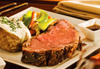 Saturday Special- 12 oz Prime Rib Dinner $21.99