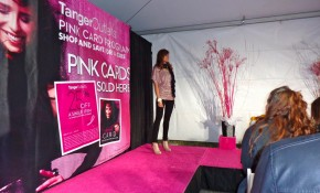 PINK PARTINI EVENT DAZZLES AT TANGER OUTLET