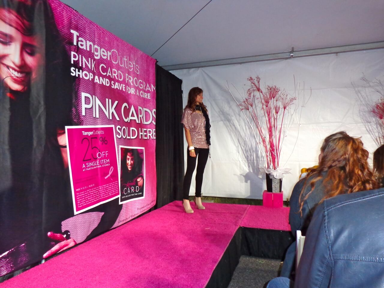 Pink Partini Event Dazzles At Tanger Outlet Dells Com Blog