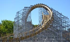 Hades 360 Coaster at Mt. Olympus!