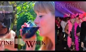 Pinktini And Wine Walk 2013