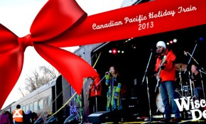 Canadian Pacific Holiday train comes to The Dells!