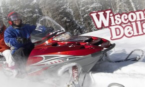 Dashing Through the Snow: Snowmobiling in Wisconsin Dells