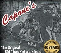 Capone's Original Old Time Picture Studio 40th Anniversary