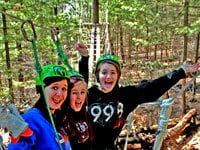 Ride the Newest Canopy Tour in the Dells Featuring 18 Zip Lines!