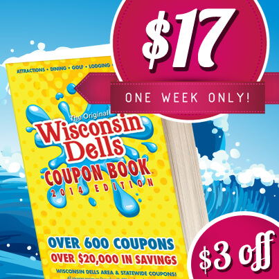 Wisconsin Dells Coupon Book Sale Dells Com Blog