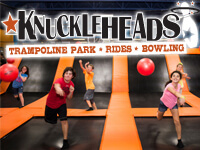 Knuckleheads Trampoline Park is now open!