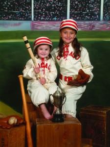 V Baseball 2 girls