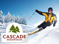 New Features at Cascade Mountain for 2014-2015 Season!