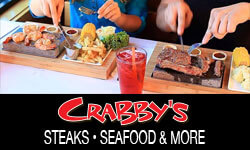 Crabby's Hot Rocks – Steaks, Seafood & More!