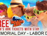 Free Noah's Ark Tickets With Stay