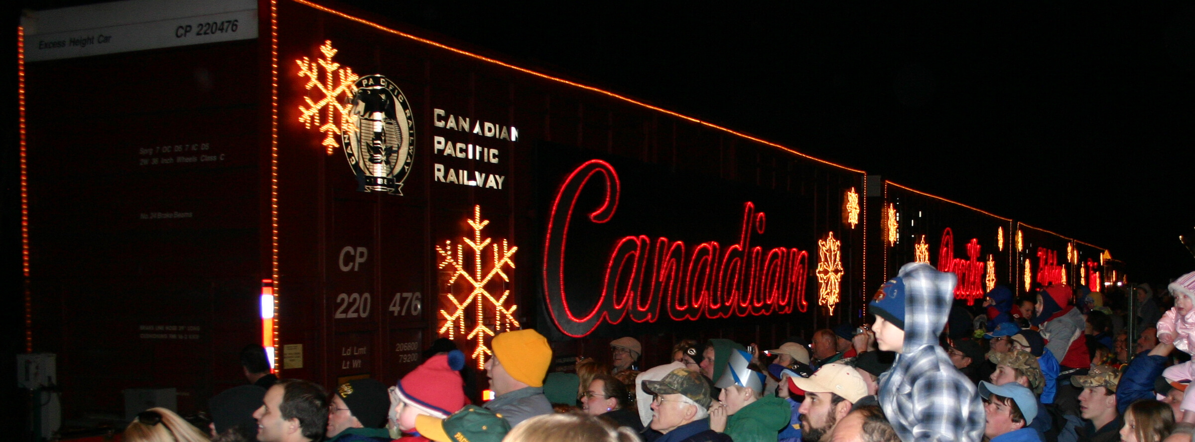 Canadian Pacific Railway S Holiday Train Wisconsin Dells