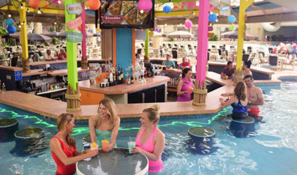 Wisconsin Dells Swim Up Bars!