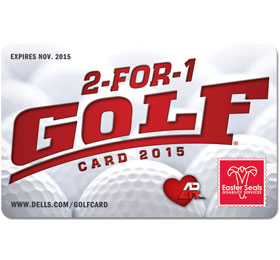2-for-1 Golf Card