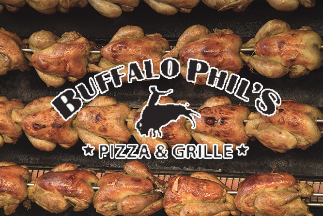 Restaurant of the month buffalo phil s pizza grille blog - Buffalo grill ticket restaurant ...