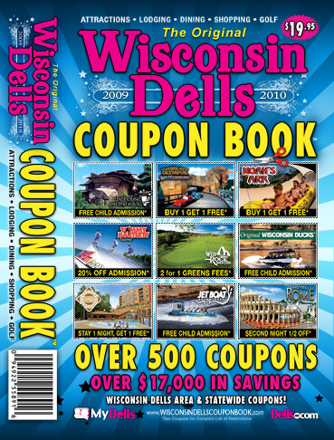 Wisconsin dells coupon book 2019