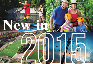 New in Wisconsin Dells for 2015!