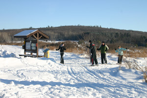 Cross Country Skiing near Wisconsin Dells