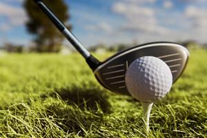 Golf Tee in Wisconsin Dells