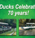 Ducks Celebrate 70 Years in Wisconsin Dells