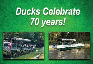Ducks Celebrate 70 Years in Wisconsin Dells