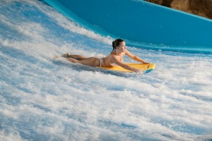 Flowrider at Kalahari Resort
