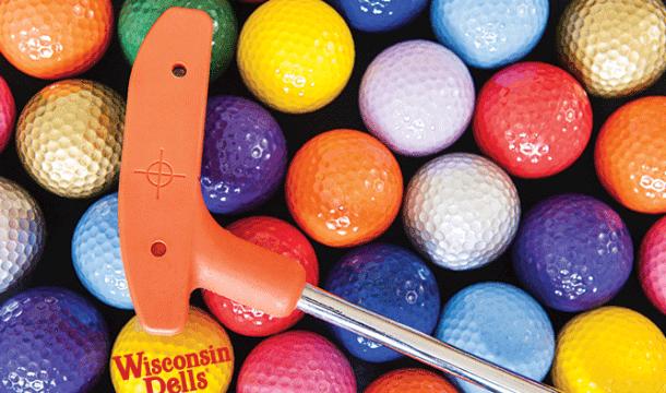 Mini Golfing in the Dells!