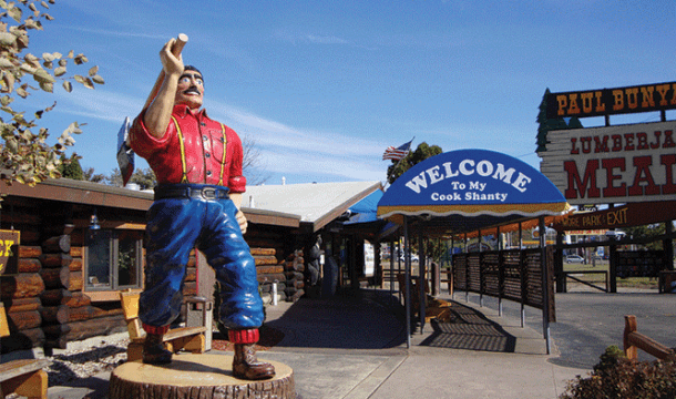 Restaurant of the Month: Paul Bunyan's Northwoods Cook Shanty