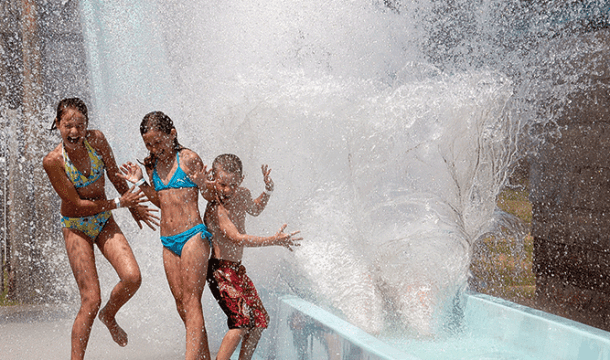 Beat the Heat at these Dells Waterparks