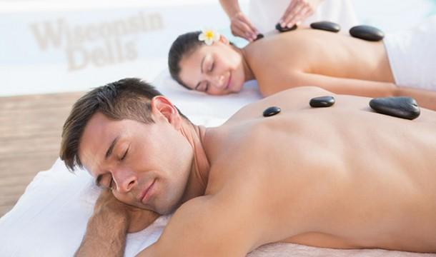 Escape the Cold with a Hot Stone Massage