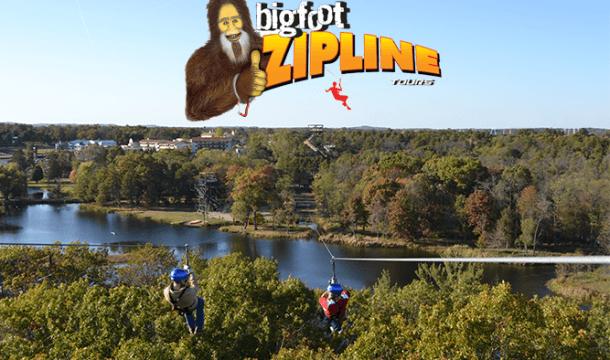 Autumn Spotlight on: Bigfoot Zipline Tours