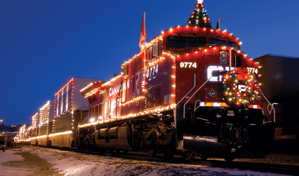 Canadian Pacific Holiday Train to Stop in the Dells!