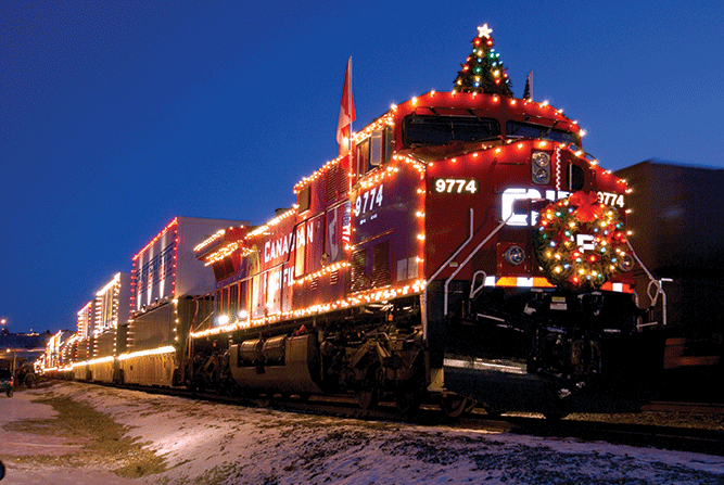 Canadian Pacific Holiday Train to Stop in the Dells ...
