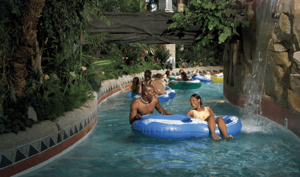 Drift Along the Dells Indoor Lazy Rivers