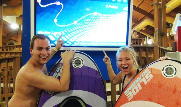 What's New: Slideboarding at the Wilderness Resort