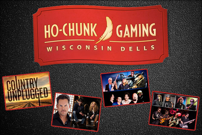 Events Coming to Ho-Chunk Gaming - Wisconsin Dells | Dells