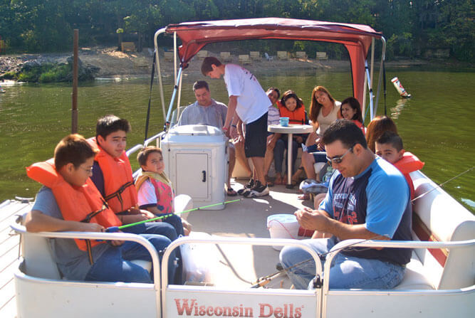 Fishing the Natural Rivers & Lakes Around the Dells   Dells