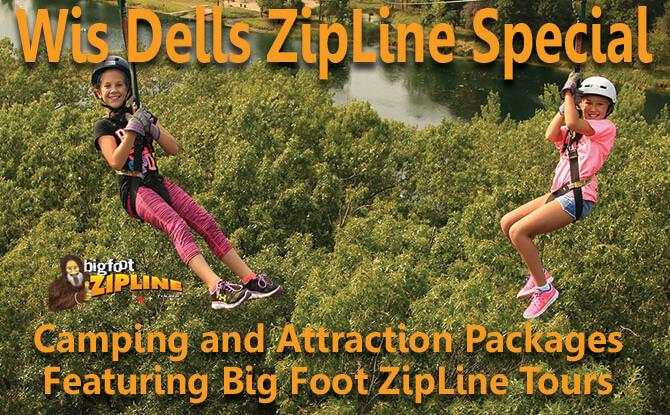 Wis Dells Zipline Special