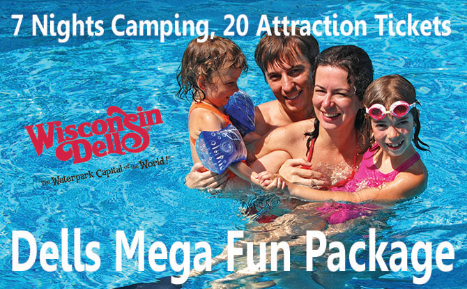 Wisconsin Dells Mega Fun Package
