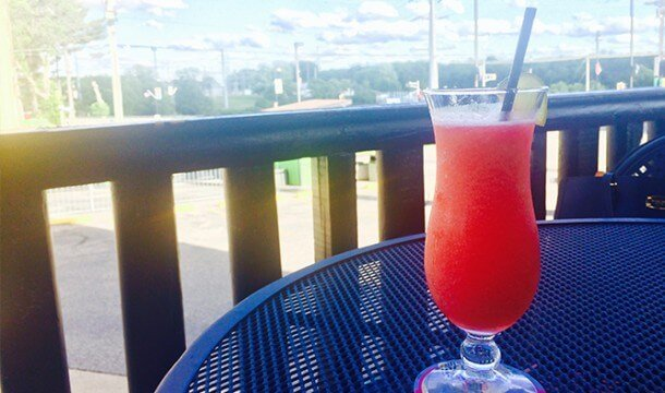 Enjoy a Cocktail on the Patio!