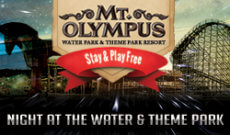 Mt. Olympus Night At The Theme Park