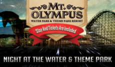 Mt. Olympus Night At The Theme Park
