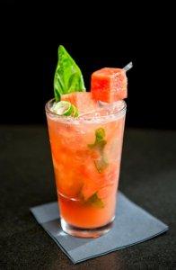 Watermelon Basil Daiquiri at Double Cut Grill